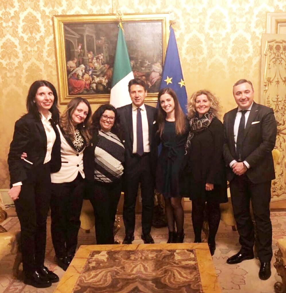 I parlamentari cinquestelle foggiani incontrano il premier for I parlamentari