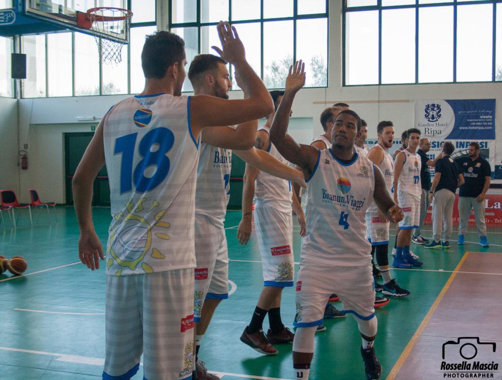 Basket Ottima Bisanum I Garganici Inanellano La Quinta Vittoria