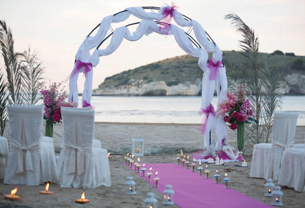 Matrimonio Spiaggia Circeo : Vieste celebrazione di matrimoni civili su aree private