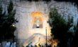 VIESTE - La Madonna di Lourdes nella grotta della chiesa all'aperto della Buon Pastore